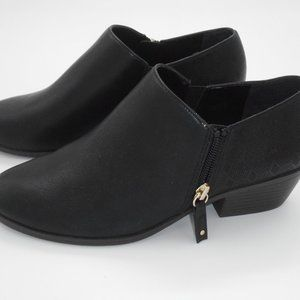 Dr Scholls Shoes Misses Black Booties Memory Foam